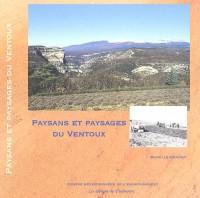 Paysans et paysages du Ventoux