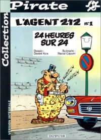 BD Pirate : Agent 212, tome 1 : 24 heures sur 24