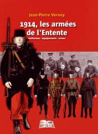 Les soldats de l'entente en 1914