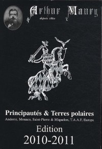 Principautés & Terres polaires : Andorre, Monaco, Saint-Pierre & Miquelon, TAAF, Europa