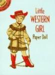 LITTLE WESTERN GIRL. Paper doll