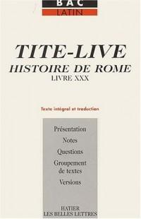 Histoire de Rome, livre XXX : Texte intégral et traduction