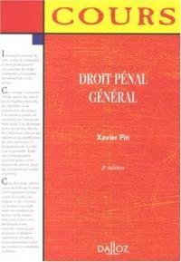 Droit pénal général : Edition 2007