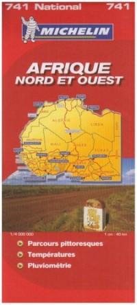 Carte Routiere 741 Afrique Nord et Ouest