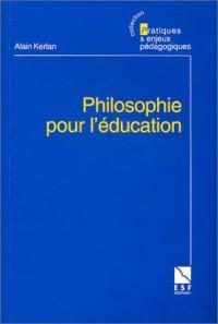 Philosophie pour l'éducation : Le compagnonnage philosophique en éducation et en formation