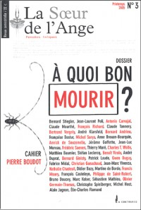 La Soeur de l'Ange, N° 3, Printemps 2005 : A quoi bon mourir ? : Pensées iniques