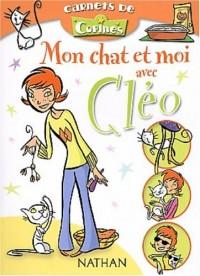 Mon chat et moi avec Cléo