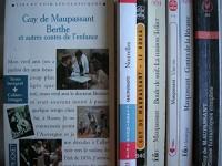 guy de maupassant - lot 7 livres : berthe et autres contes de l'enfance - nouvelles - le horla - boule de suif / la maison tellier - une vie - contes de la bécasse - contes fantastiques complets