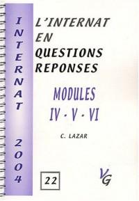 Modules IV - V - VI