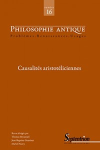 Causalites Aristoteliciennes