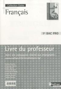 Francais 1e Bac pro : Livre du professeur