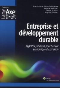 Entreprise et Developpement Durable