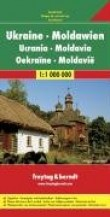 Ukraine Moldavie : 1/1 000 000