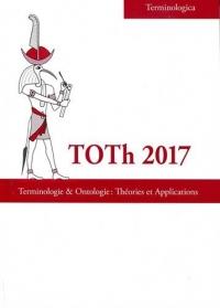 Toth 2017 : Terminologie & ontologie : théories et applications