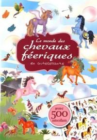 Le monde des chevaux féeriques en autocollants