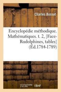 E  Mathematiques T 2  Fac Rud  ed 1784 1789