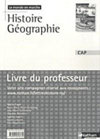Histoire Géographie CAP : Livre du professeur