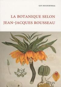 La botanique selon Jean-Jacques Rousseau