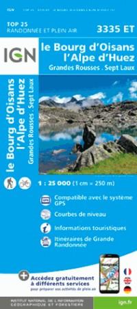 3335ET BOURG D'OISAN L'ALPE D'HUEZ GRANDES ROUSSES