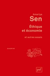 Ethique et économie : Et autres essais. Traduit de l'anglais par Sophie Marnat