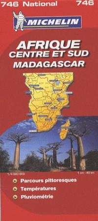 Afrique centre et sud Madagascar : 1/4 000 000
