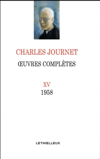 Oeuvres complètes, volume XV: 1958