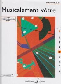 Musicalement Votre Volume 4 Accompagnements Professeur