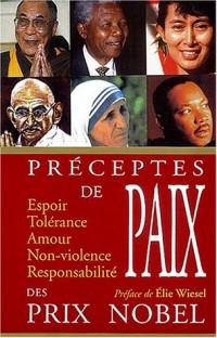 Paroles de paix des prix Nobel