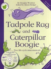 Douglas Wootton: Tadpole Rag And Caterpillar Boogie (Teacher's Book). Partitions pour Piano, Chant et Guitare(Symboles d'Accords)