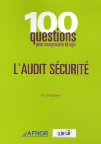 L'audit sécurité