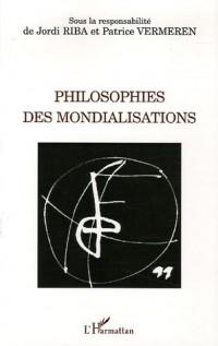 Philosophies des mondialisations