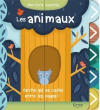 Mon livre surprise - les animaux