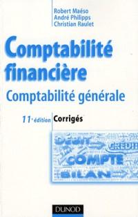 Comptabilité financière : Corrigés