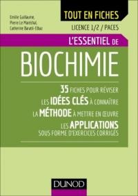 Biochimie - Licence 1 et 2 - L'essentiel en fiches