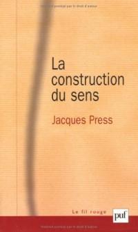 La construction du sens