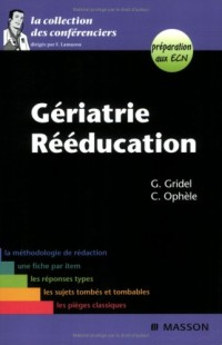 Gériatrie - Rééducation