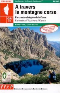 A travers la montagne Corse 2003, GR 20