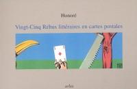 Vingt-cinq rébus littéraires en cartes postales