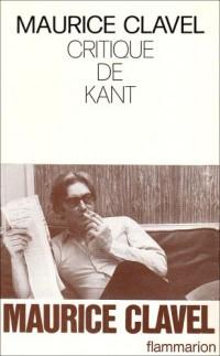 Critique de Kant
