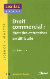Droit Commercial : Entrepr. en Difficult