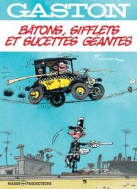Gaston hors-serie gaston hors-serie - batons, sifflets et sucette geante