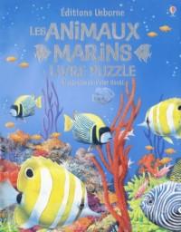 Les animaux marins : Livre puzzle