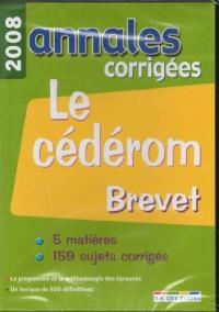Annales corrigées Brevet : CD-ROM