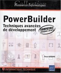PowerBuilder - Techniques avancées de développement (pour les versions 7, 8 et 9)