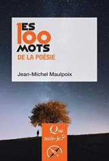 Les 100 mots de la poésie [Poche]