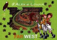 Les Puzzles d'Alex et Louna - Far West