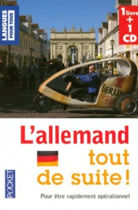 L'allemand tout de suite ! (1CD audio)