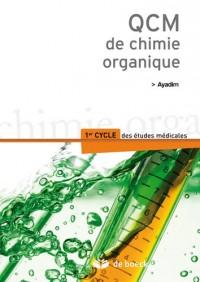 QCM de chimie organique