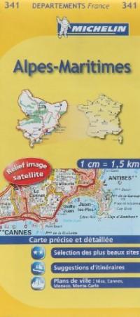 Alpes-Maritimes : 1/150 000