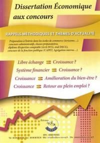 Dissertation Economique aux Concours :